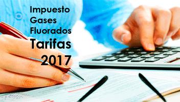 impuesto gases fluorados 2017