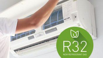 Gas refrigerante R 32