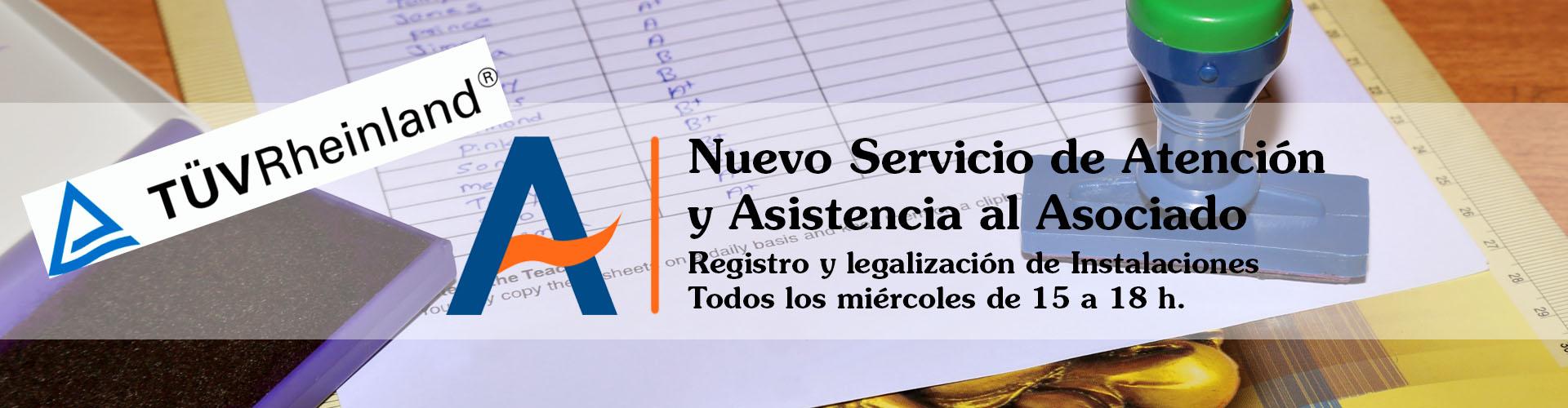 Servicio Registro instalaciones TÜV