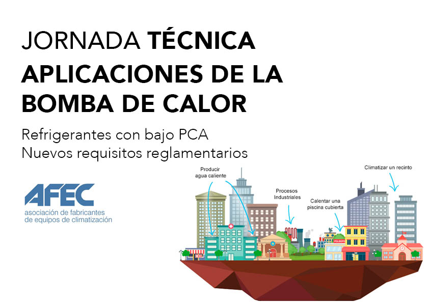 AFEC: La Bomba de Calor. Refrigerantes con bajo PCA. Nuevos Requisitos Reglamentarios