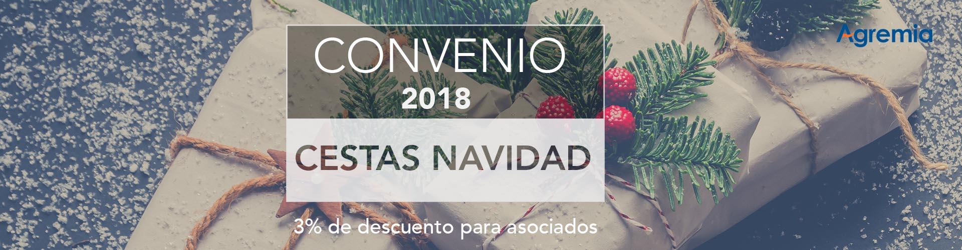 Convenio CESTAS Navidad 2018