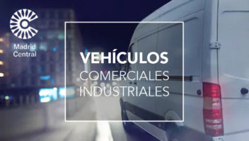 Comunicación Ayto Madrid vehículo comercial